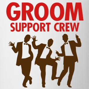 Groom Support Crew 1 (2c)++ T-Shirts - Coffee/Tea Mug