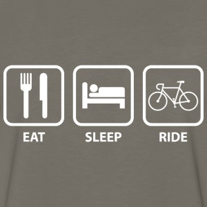 Eat Sleep Ride - Men's Premium Long Sleeve T-Shirt