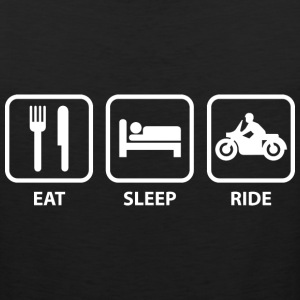 Eat Sleep Ride - Men's Premium Tank