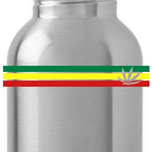 jamaica, hemp, grass smoke pot, joint, dowel, , T-Shirts - Water Bottle