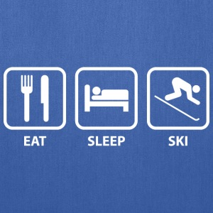 Eat Sleep Ski - Tote Bag