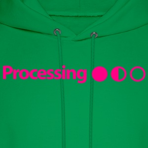 Processing on Mint Green - Men's Hoodie