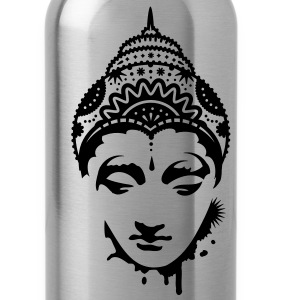 A portrait of a Buddha T-Shirts - Water Bottle