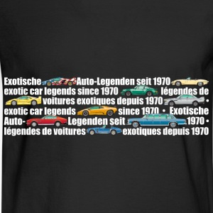 exotic-legends-banner (white font) - Men's Long Sleeve T-Shirt