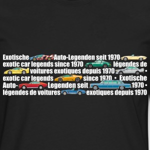 exotic-legends-banner (white font) - Men's Premium Long Sleeve T-Shirt
