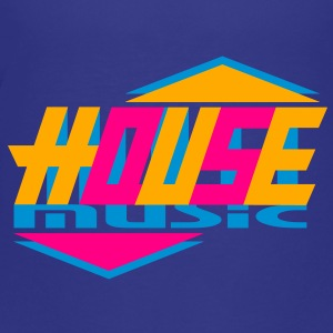 House music design Kids' Shirts - Toddler Premium T-Shirt