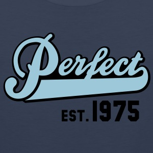 Perfect EST. 1975 Birthday Design T-Shirt - Men's Premium Tank