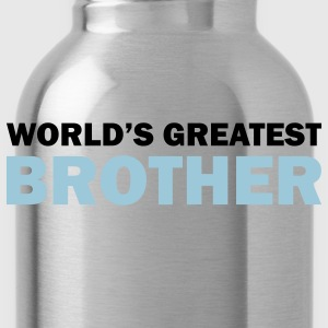 World's greatest brother - Water Bottle