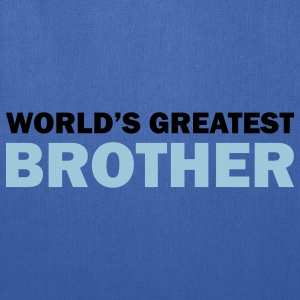 World's greatest brother - Tote Bag