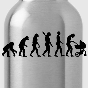 Evolution Baby parents Kids' Shirts - Water Bottle