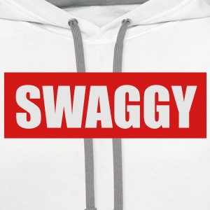 Swaggy Men's T-Shirt - Contrast Hoodie