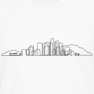 Los Angeles Skyline T-shirt - Men's Premium Long Sleeve T-Shirt