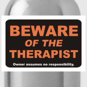 Beware of The Therapist - Water Bottle