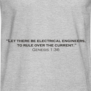 The Creation of Electrical Engineers - Men's Long Sleeve T-Shirt