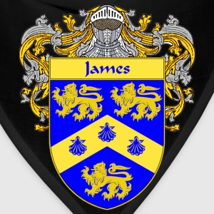 James Coat of Arms/Family Crest - Bandana