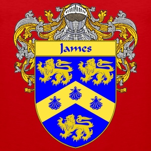 James Coat of Arms/Family Crest - Men's Premium Tank
