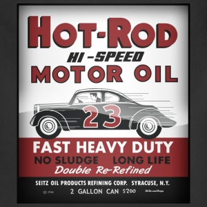 Hot-Rod Motor Oil vintage tin can reproduction - Adjustable Apron