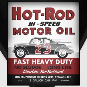 Hot-Rod Motor Oil vintage tin can reproduction - Bandana
