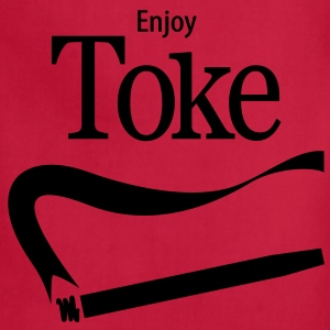 Enjoy Toke Women's T-Shirts - Adjustable Apron