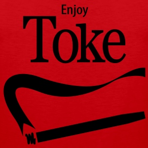 Enjoy Toke Women's T-Shirts - Men's Premium Tank