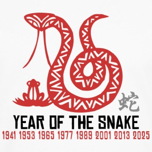Chinese Year of The Snake T Shirt - Men's Premium Long Sleeve T-Shirt