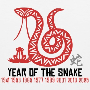 Chinese Year of The Snake T Shirt - Men's Premium Tank