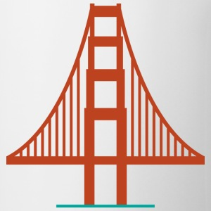 San Francisco Golden Gate Bridge Logo Shirt - Coffee/Tea Mug