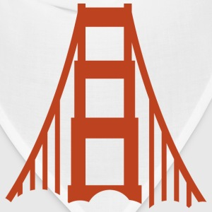 San Francisco Golden Gate Bridge Logo 3 Shirt - Bandana