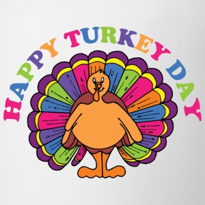 Happy Turkey Day T-Shirt - Coffee/Tea Mug