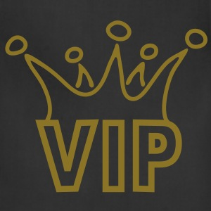 vip_crown T-Shirts - Adjustable Apron