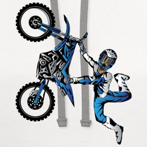 Yamaha Freestyle Motocross Baby & Toddler Shirts - Contrast Hoodie