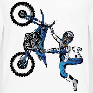 Yamaha Freestyle Motocross Baby & Toddler Shirts - Men's Premium Long Sleeve T-Shirt