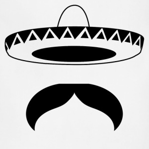 Mexican Mustache - Adjustable Apron