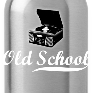 Old School Record Player - Water Bottle