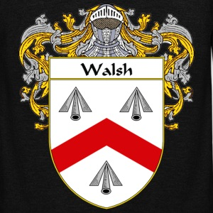 Walsh Coat of Arms/Family Crest - Unisex Fleece Zip Hoodie by American Apparel