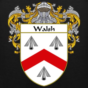 Walsh Coat of Arms/Family Crest - Men's Premium Tank