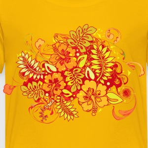 Hibiscus_Growth - Toddler Premium T-Shirt