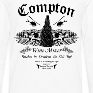 The Compton Wine Mixer - Men's Premium Long Sleeve T-Shirt