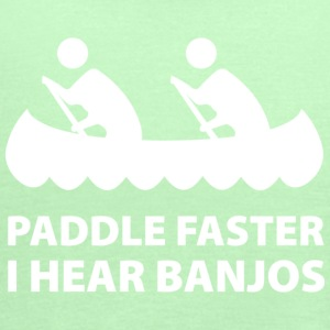 Paddle Faster - Women's Flowy Tank Top by Bella