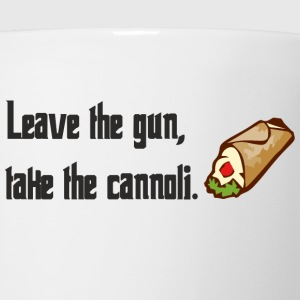 Leave The Gun Take The Canolli T-Shirts - Coffee/Tea Mug