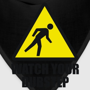 Watch your Dubstep 2c Kids' Shirts - Bandana
