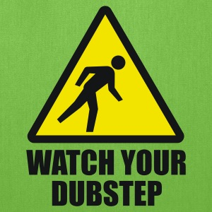 Watch your Dubstep 2c Kids' Shirts - Tote Bag
