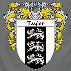 Taylor Coat of Arms/Family Crest - Unisex Fleece Zip Hoodie by American Apparel