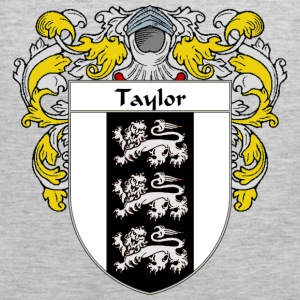 Taylor Coat of Arms/Family Crest - Men's Premium Tank