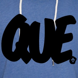 QUE Brushed W - Unisex Lightweight Terry Hoodie