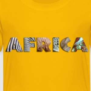 africa_092012_e Kids' Shirts - Toddler Premium T-Shirt