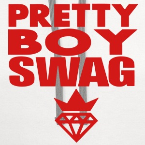 SWAG PRETTY GUY T-Shirts - Contrast Hoodie
