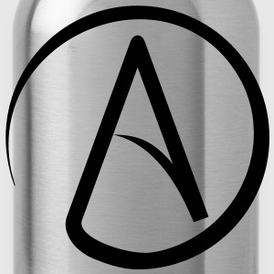 Atheist Symbol T-Shirts - Water Bottle