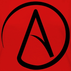 Atheist Symbol T-Shirts - Women's Premium Long Sleeve T-Shirt