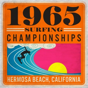 1965 Surfing Championships - Men's Premium Long Sleeve T-Shirt